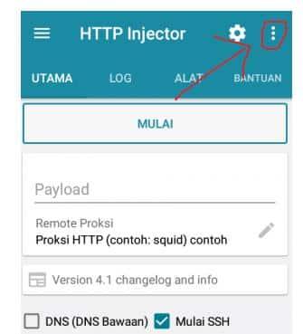 Cara Menggunakan HTTP Injector Semua Operator