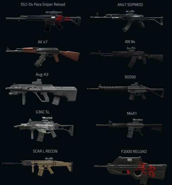 senjata pb garena