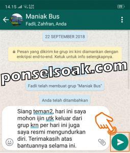 Cara Keluar Grup WhatsApp Secara Baik Baik Sopan 1