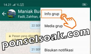Cara Keluar Grup WhatsApp Secara Baik Baik Sopan 3