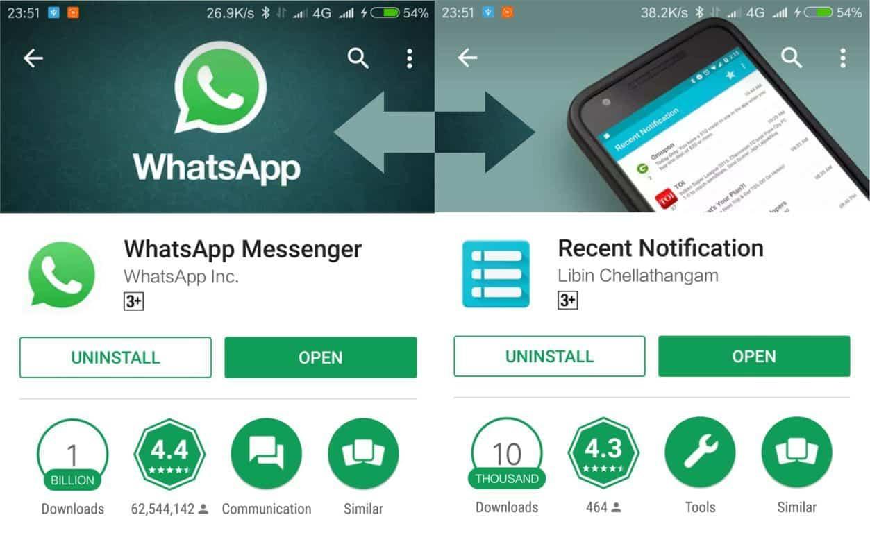 Cara Membaca Kembali Pesan yang Dihapus Pada Whatsapp Work