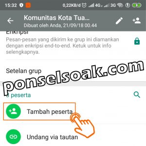 Cara Menambah Anggota Grup WhatsApp 4 1