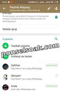 Cara Menambah Anggota Grup WhatsApp 7