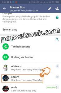 Cara Menambah Mengangkat Admin Group WhatsApp Yang Baru 3