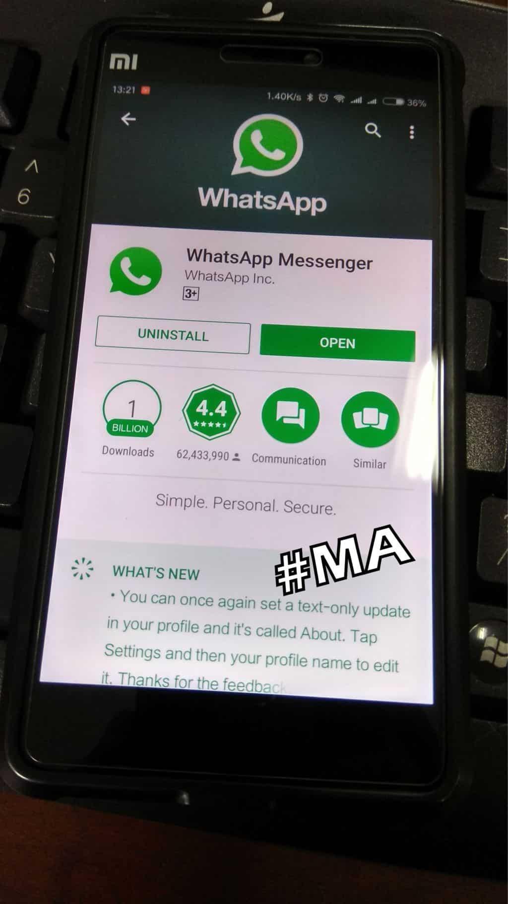 Cara Menghapus Pesan Terkirim di WhatsApp