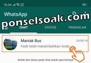 Cara Mengganti Nama Foto Profil Grup WhatsApp 1