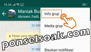 Cara Mengganti Nama Foto Profil Grup WhatsApp 3