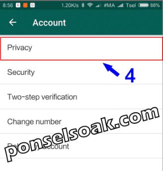 Cara Blokir Kontak Whatsapp 10