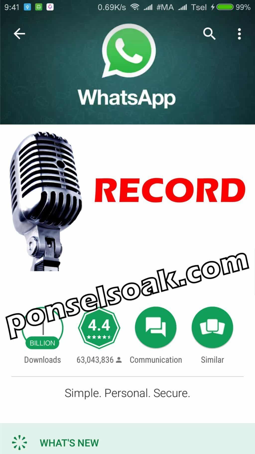 Kenapa & Solusi WhatsApp Tidak Bisa Kirim Pesan Suara?