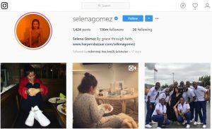 Akun Instagram dengan Follower Terbanyak Selena Gomez