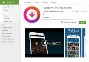 Aplikasi Download Video & Foto Instagram Fastsave
