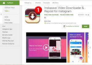 Aplikasi Download Video & Foto Instagram Instasave