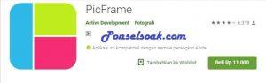 Aplikasi Border Pembatas Feed Foto Instagram Picframe