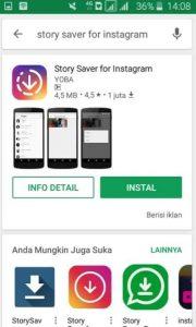 Cara Download Story Instagram 1