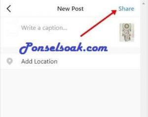 Cara Menambahkan Foto di Instagram 7