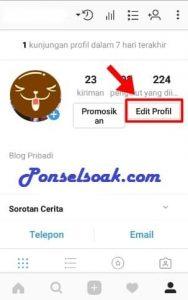 Cara Mengganti Foto Profil Instagram 2