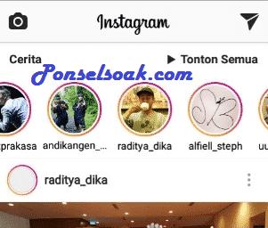 Cara Unmute Instagram Story a