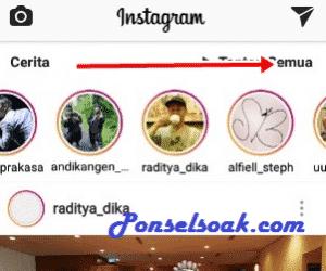 Cara Unmute Instagram Story b