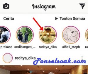 Cara Unmute Instagram Story e