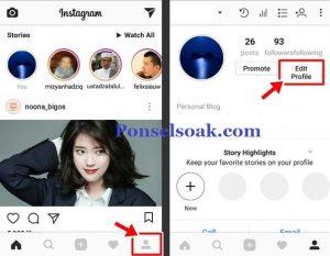 Cara Mengganti Email Instagram 2