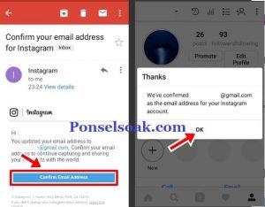 Cara Mengganti Email Instagram 6