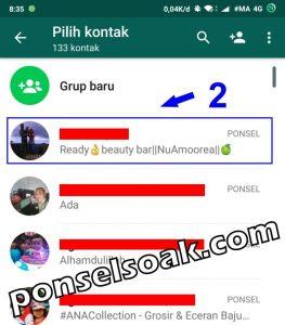 Cara Menghapus Kontak di Whatsapp 2