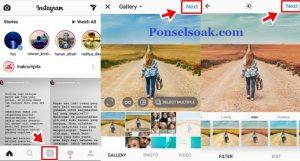 Cara share url membuat link Instagram 1