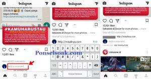 Cara share url membuat link Instagram 3