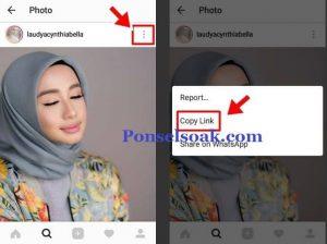 Copy Caption di Instagram Dengan Aplikasi 2