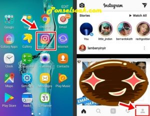 Ganti Nama Via Aplikasi IG di Smartphone 1