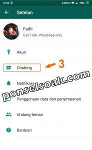 Memindahkan Akun Whatsapp ke HP Baru 3