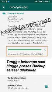 Memindahkan Akun Whatsapp ke HP Baru 6