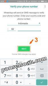 Memindahkan Akun Whatsapp ke HP Baru 9