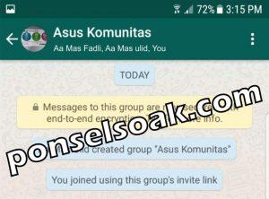 Menambahkan Anggota Grup Bukan Admin 9