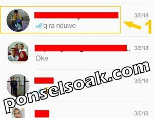 Menyembunyikan Kontak Whatsapp Menu Arsip 1