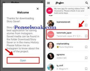 Menyimpan Instagram story ke gallery 3