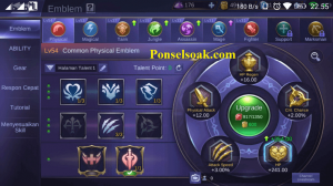Build Emblem Alucard Mobile Legends 1