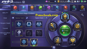 Build Emblem Aurora Mobile Legends 1