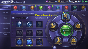 Build Emblem Aurora Mobile Legends 2