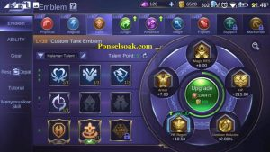 Build Emblem Franco Mobile Legends 2