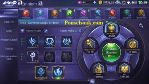 Build Emblem Harley Mobile Legends 1