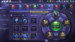 Build Emblem Harley Mobile Legends 2