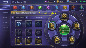 Build Emblem Irithel Mobile Legends 2