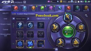 Build Emblem Kagura Mobile Legends 2
