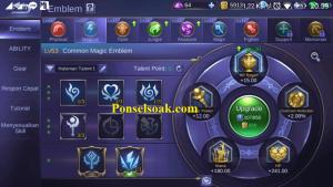 Build Emblem Odette Mobile Legends 1