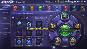 Build Emblem Odette Mobile Legends 2