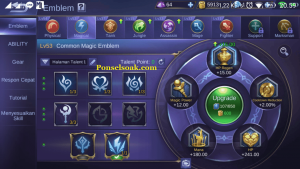 Build Emblem Pharsa Mobile Legend 1