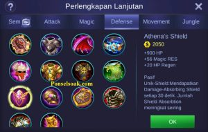 Build Gear Akai Mobile Legends 3