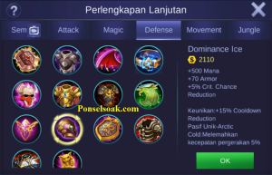Build Gear Akai Mobile Legends 5