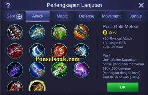 Build Gear Alucard Mobile Legends 5